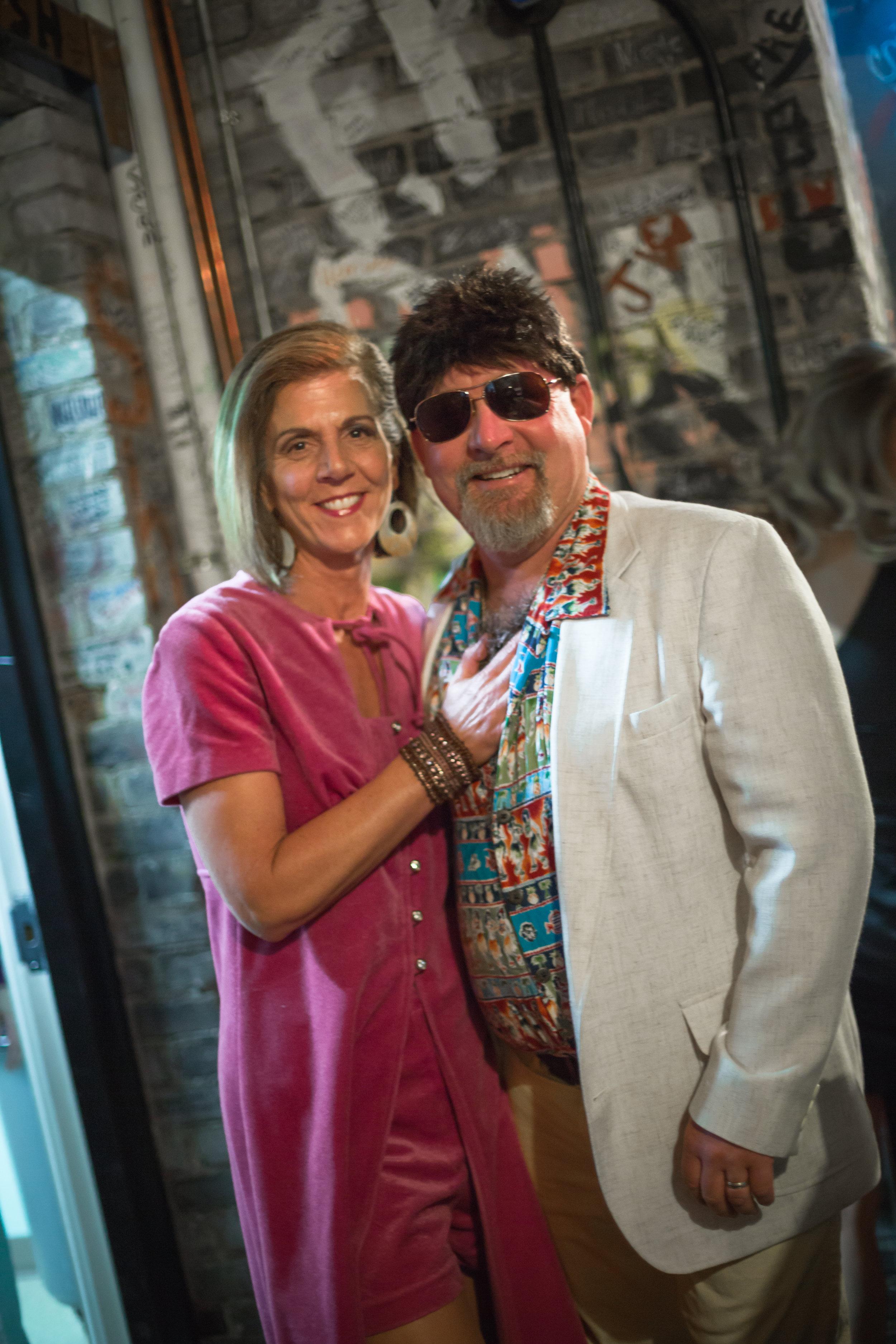 Celebrity Panelists, Sue Sorenson and Matt Woodke backstage of the 2016 HBGS.