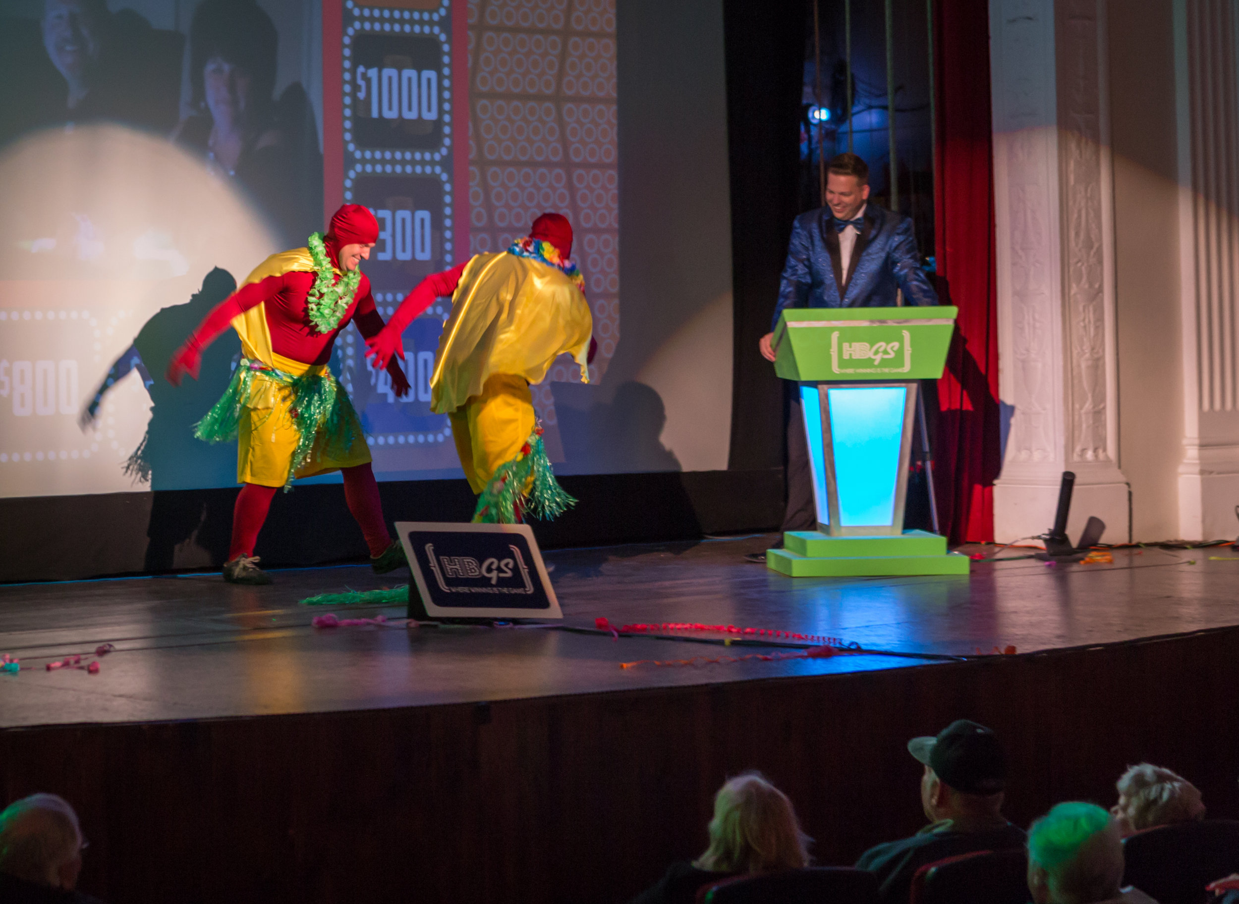 No one quite knows what is going to happen next with the Whammys; not even the show's executive producer and host!