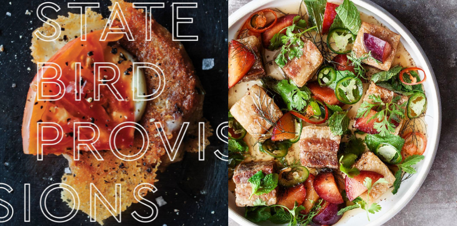 State Bird Provisions (left); @statebirdprovisions (right)