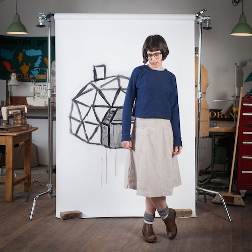 Blueprints for Sewing Geodesic Sweater