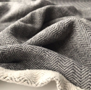 Organic Cotton French Terry in Charcoal