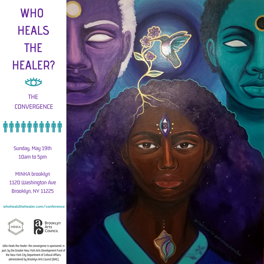 """2019 commissioned by Micaela Anaya, 12.12.18 """"The Healer.' All Rights Reserved."""