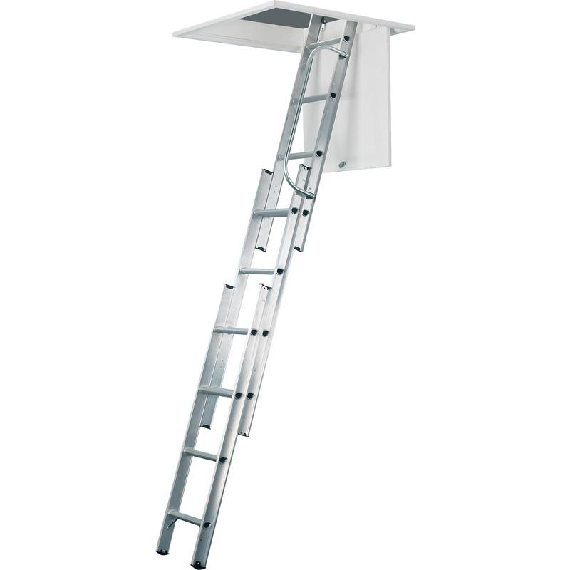 3 section aluminium ladder