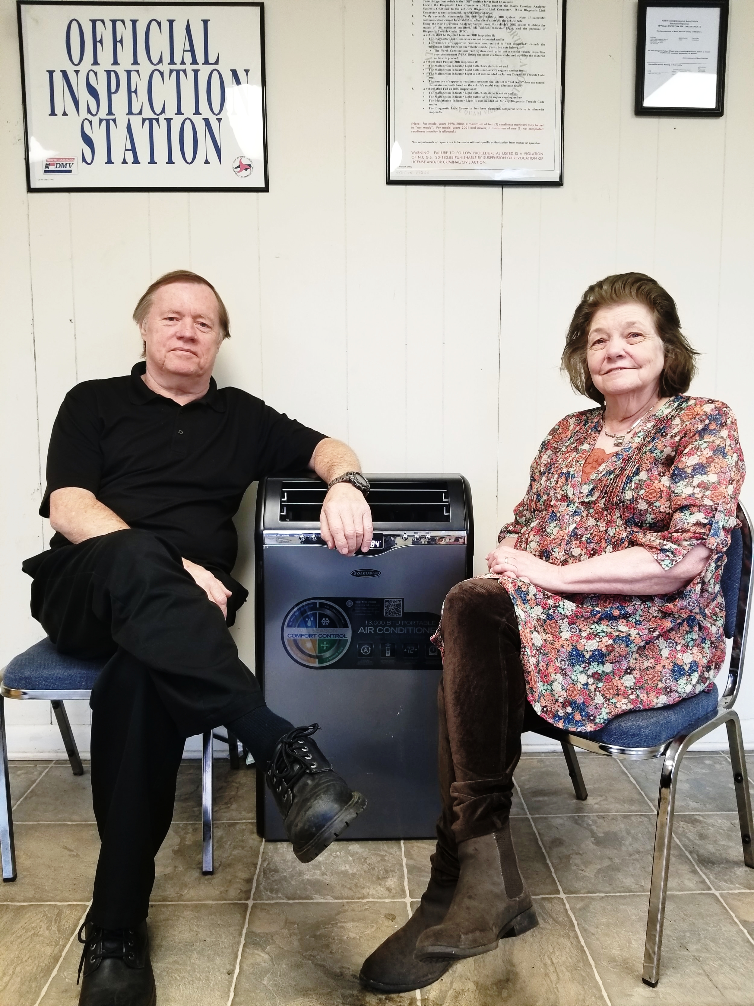 Terry & Vicki Maners - Founder of Terry's Alignment ShopOn a brisk evening dating back to October 1st 1996, Terry and his wife, Vickey, began on a jounrey to create the legacy that is, Terry's Alignment Shop.