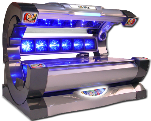 High Pressure UV Tanning Bed