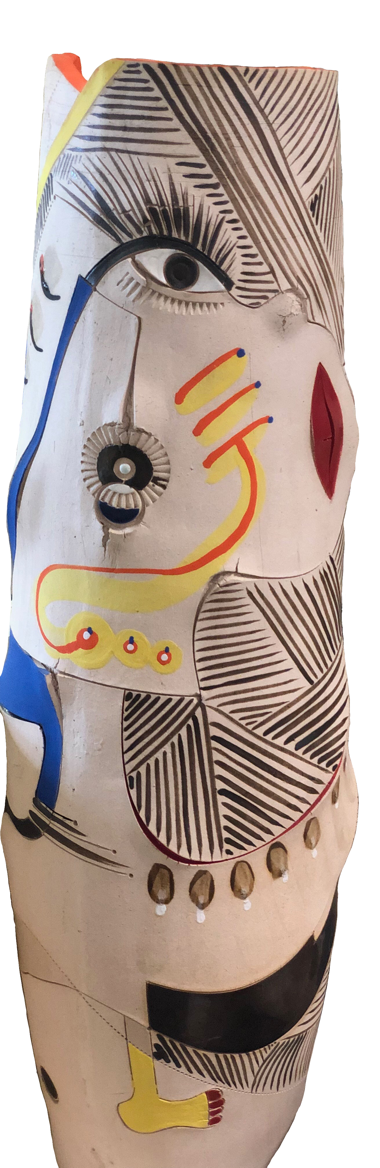 """Africasso"" Vase by Andile Dyalvane for Imiso Ceramics"