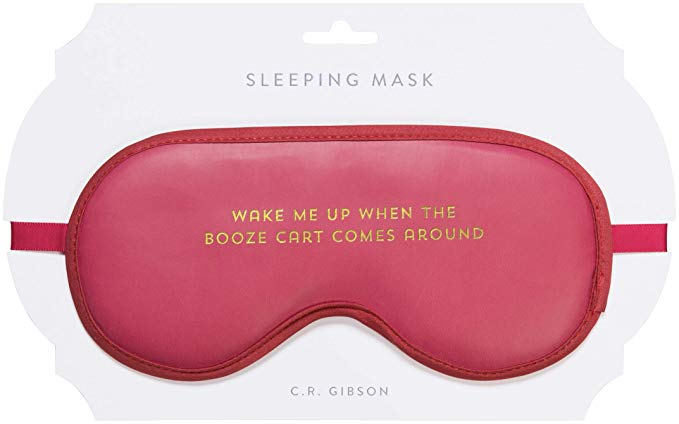 #2 Sleep Mask - When you want to sleep but you like booze too much…