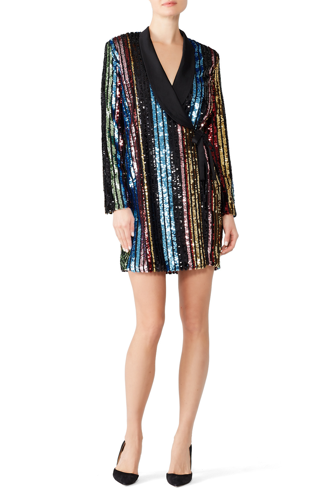 RAGA Sequin Charlize Blazer Dress - This dress has YAS QUEEN written all over it.