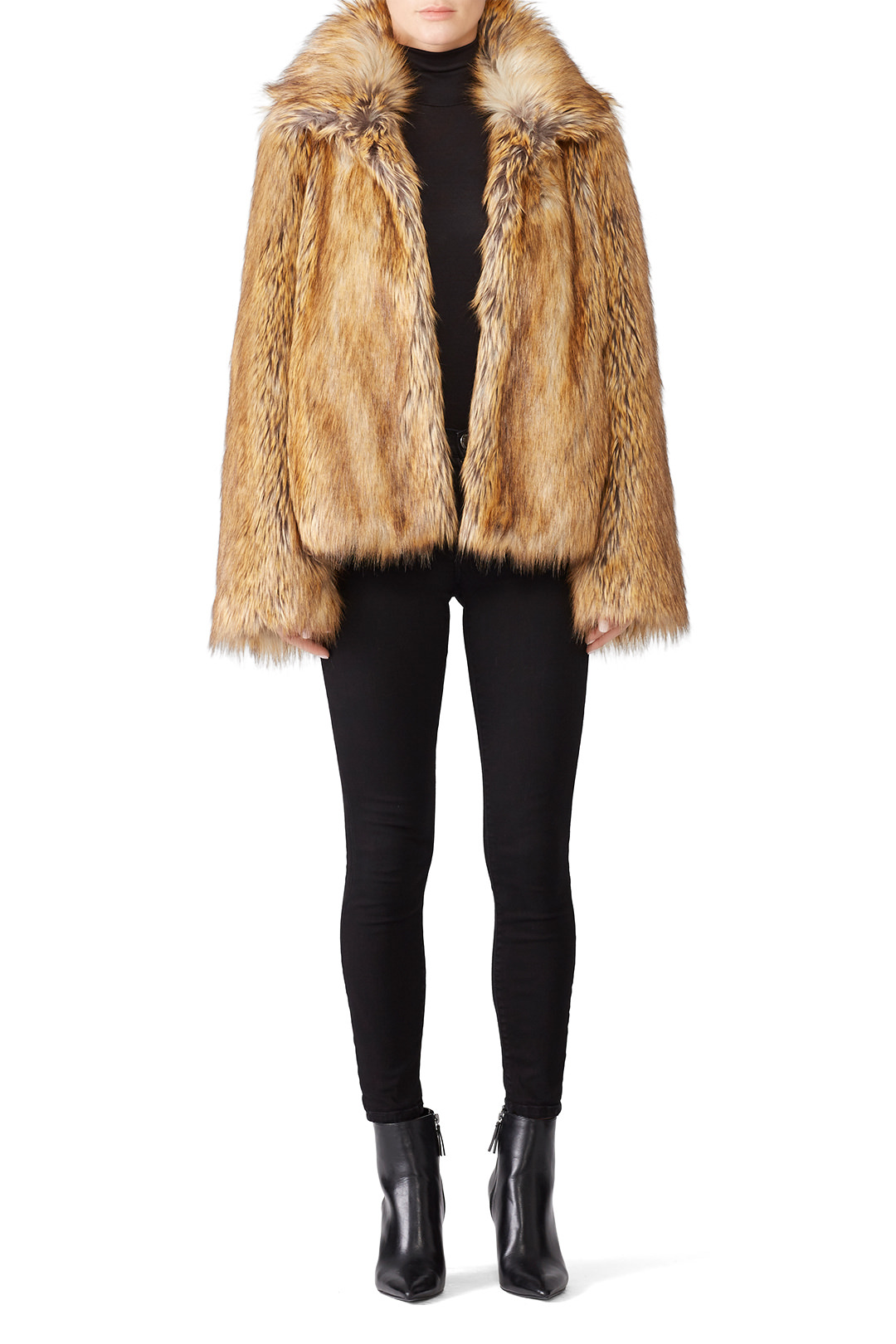 Zadig & Voltaire Fury Faux Fur Coat - I wore this bad boy to death on my trip to Romania & Prague. It kept me super warm!