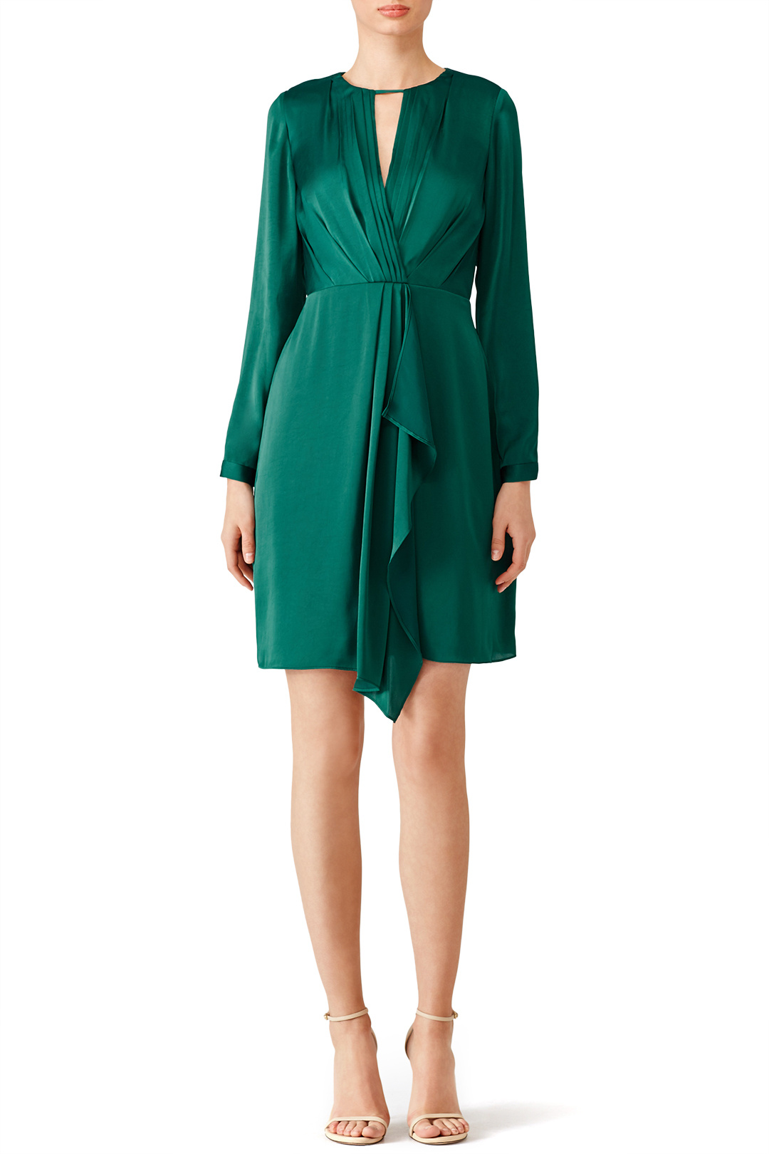 Shoshanna Green Addison Dress - I wore this on air when I anchored my last Thanksgiving show. It was so pretty and I got ZERO mean emails about it. So that's a win lol.
