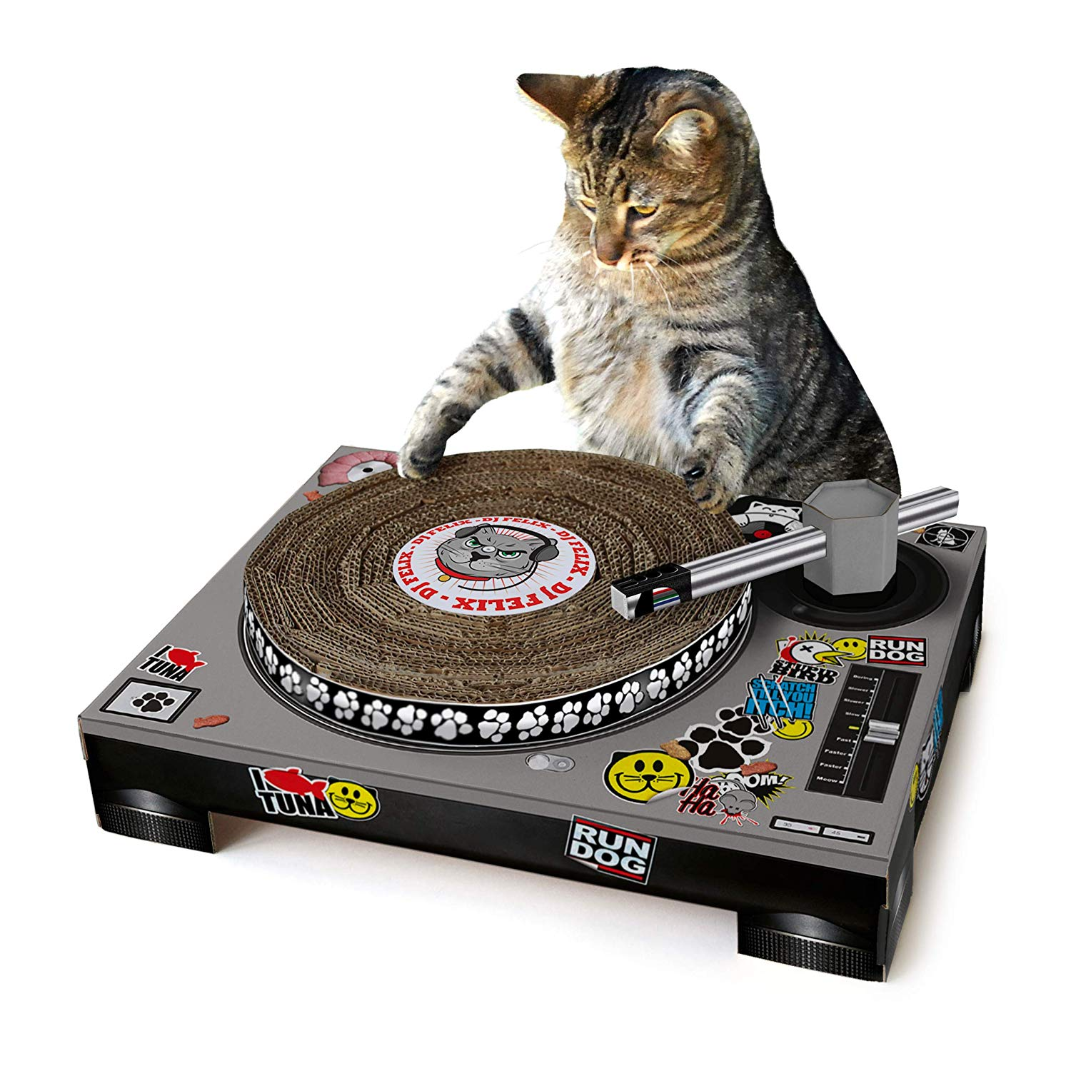 Cat DJ Starter Kit - Palmer asked me for this for Christmas this year and I just couldn't say no. I know that a career as a cat DJ isn't an easy career but who am I to crush his dreams?
