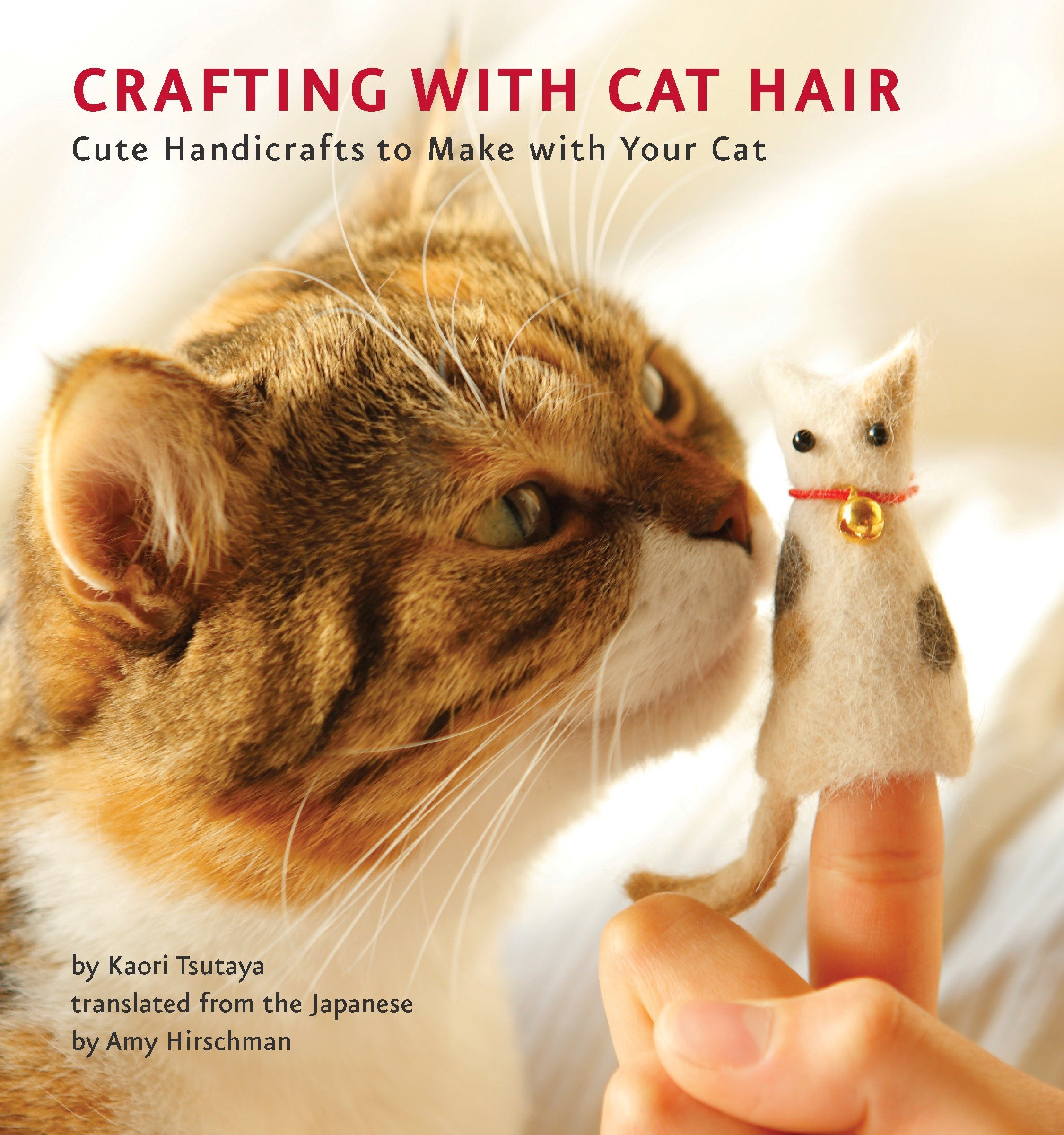 For the super weird cat owner - I don't know that I'd want to craft with cat hair but some other cat owner might…