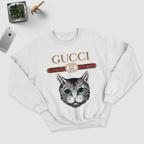 Don't want to spend $200 on a t-shirt? - Yeah…me either. So I found you a knock-off Gucci sweatshirt on Etsy. And yes…The real Gucci kids t-shirt version is $210…