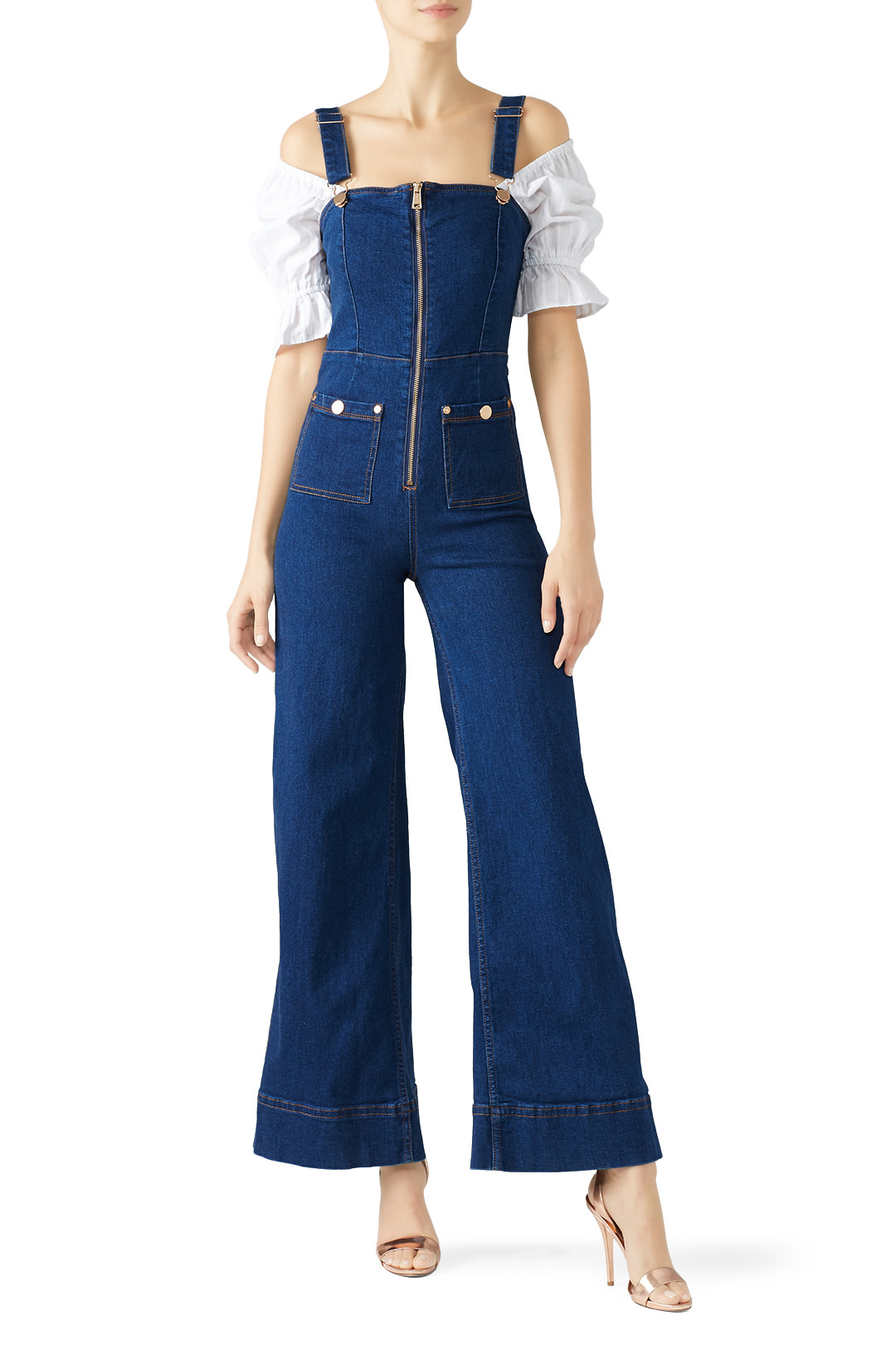 alice McCALL Quincy Overalls - I love me a statement piece and these overalls are just that! Pair them with a top or wear them on their own (SCANDY!!!)