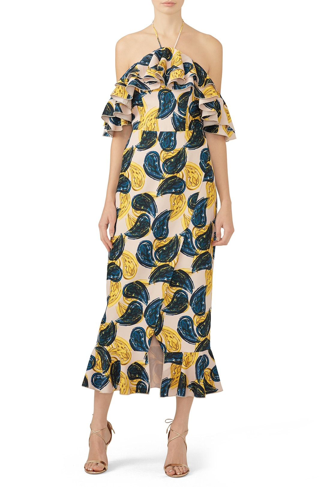 C/MEO COLLECTIVE Island Time Dress - I've always wanted to rent this dress…so someone invite me to a spring wedding!!
