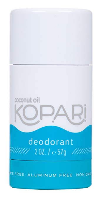 Kopari Coconut Deoderant - This is an aluminum and baking soda free deodorant that actually doesn't make me smell bag lol. I've tried a few all natural deodorants and couldn't stand how I smelled. This one is different. The best part, it goes on clear and smells so good!$14 on Amazon$20 for two mini travel size deodorants