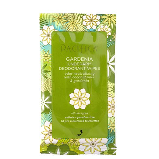 Pacifica Underarm Wipes - Sometimes we get hot and sweaty…so these are your best friend while traveling to hot and humid destinations. I throw this in my backpack and do a little cleanse after a long day walking around and I'm feeling instantly refreshed.Under $9 on Amazon