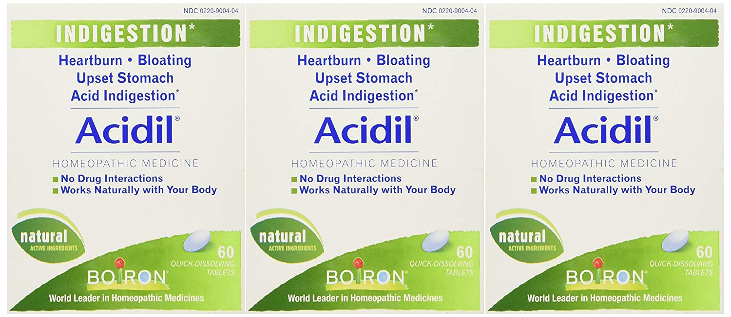 ACIDIL - Homeopathic Medicine for Indigestion