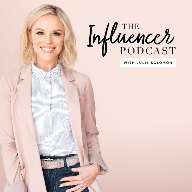 THE INFLUENCER PODCAST - This podcast tackles the ins and outs of the ever changing influencer marketing landscape. Julie Solomon is a brand strategist, digital marketing expert and influencer marketing educator. She brings on leaders in the influencer space to talk actionable tips to transform your business. If you are an influencer or just want to step up your social media game, this podcast is for you!