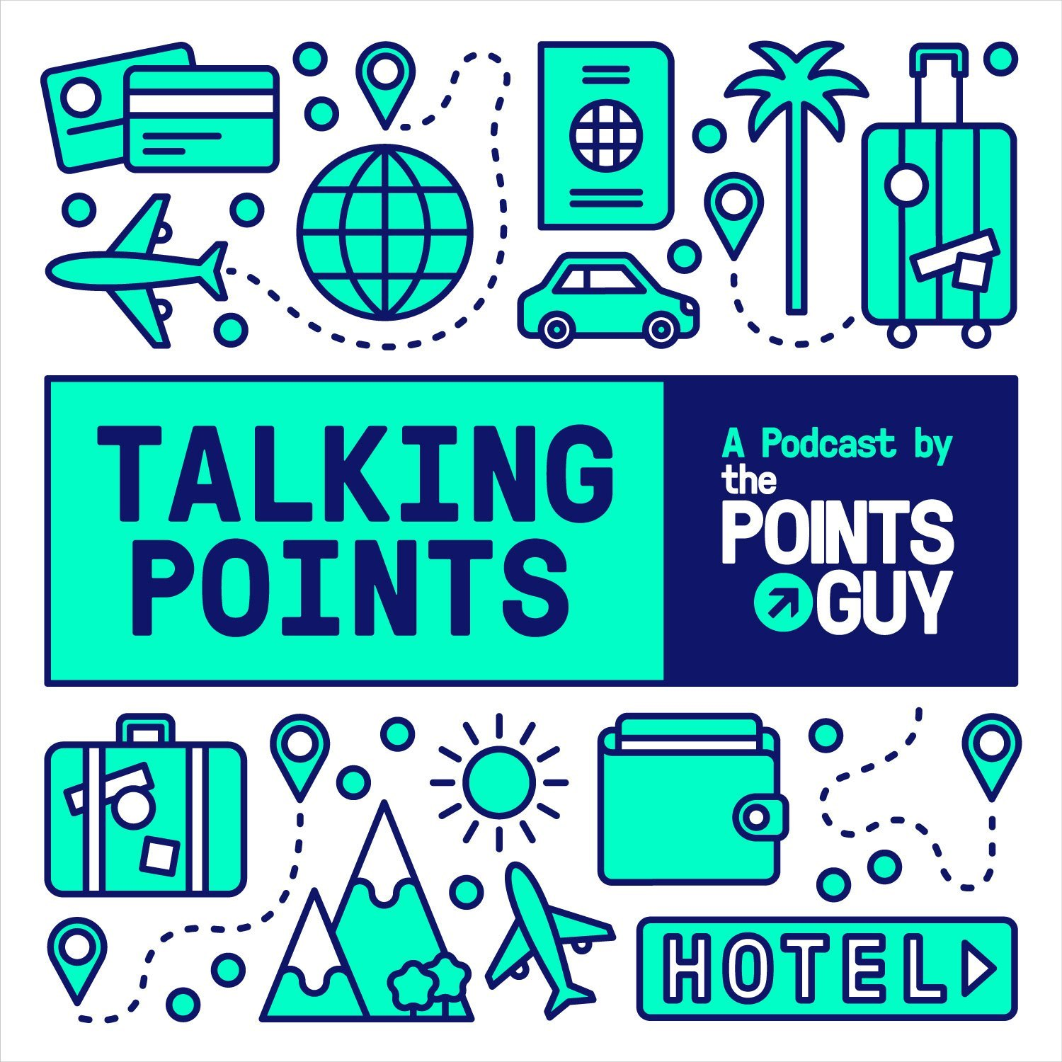 TALKING POINTS - This podcast is actually hosted by The Points Guy, aka Brian Kelly. Each week he talks to top executives in the points-and-miles world, influencers and TPG staff. The podcast gives you tangible tips to make you a smarter traveler and save some money along the way.