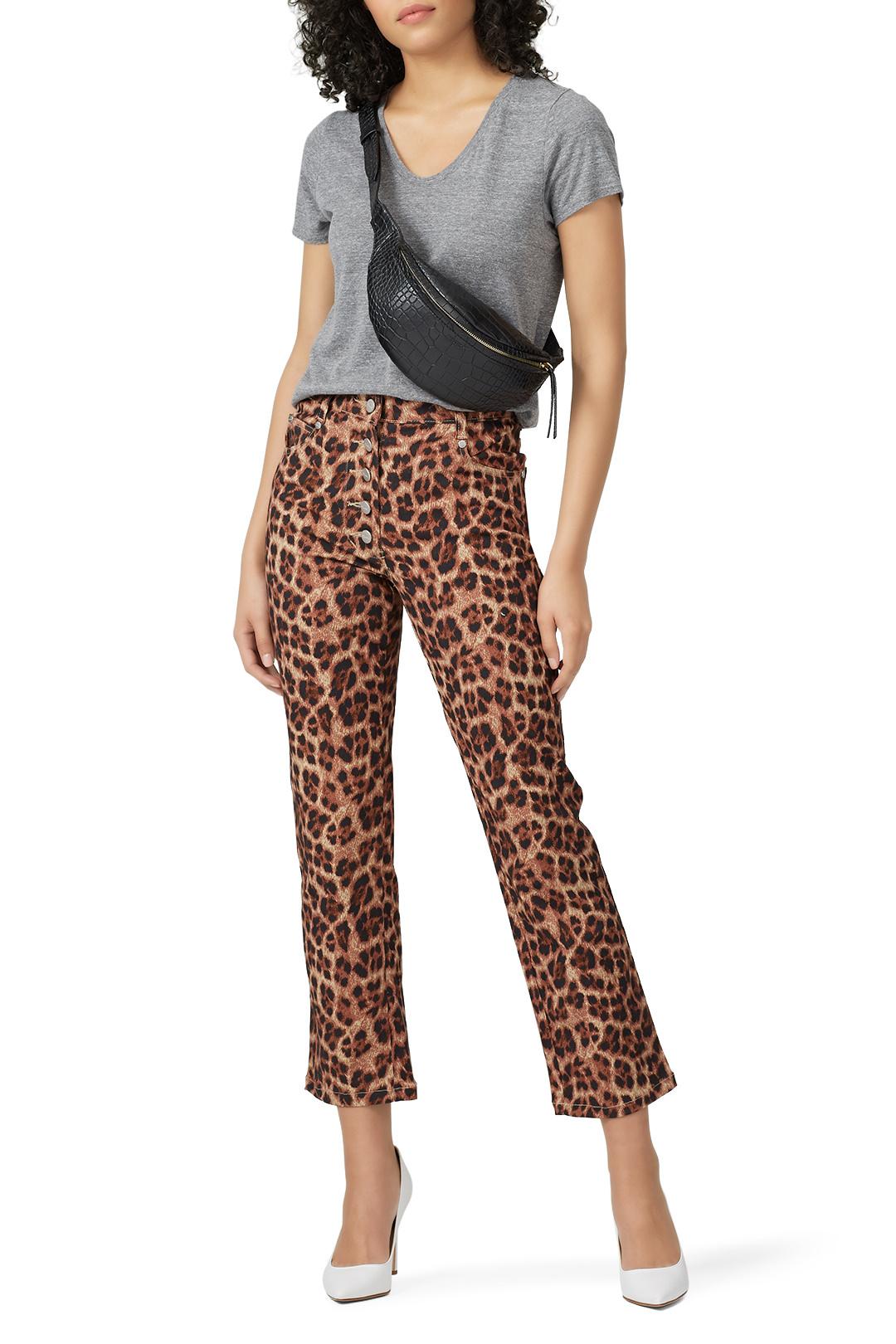 Miaou - Leopard Junior Jeans