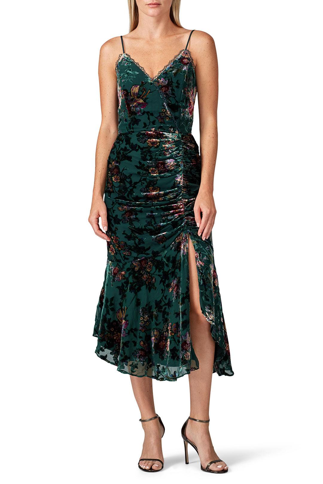 Harlyn - Velvet High Low Dress