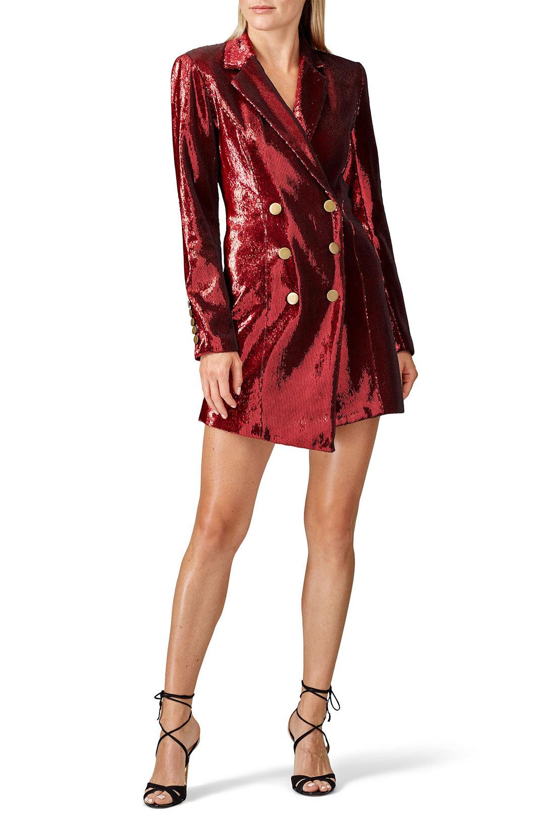 Retrofete - Selena Sequin Jacket Dress