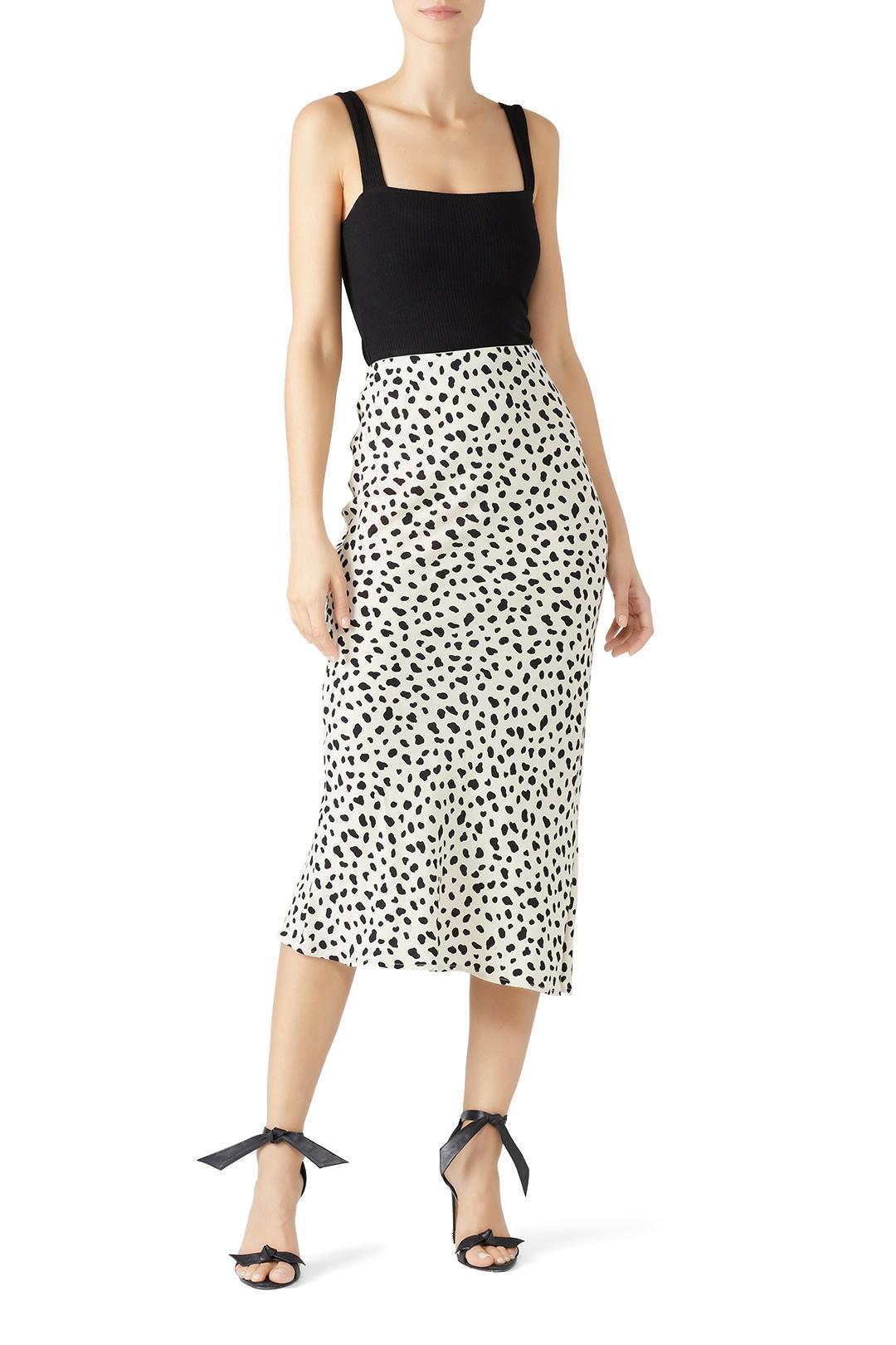 Moon River - Leopard Print Midi Skirt