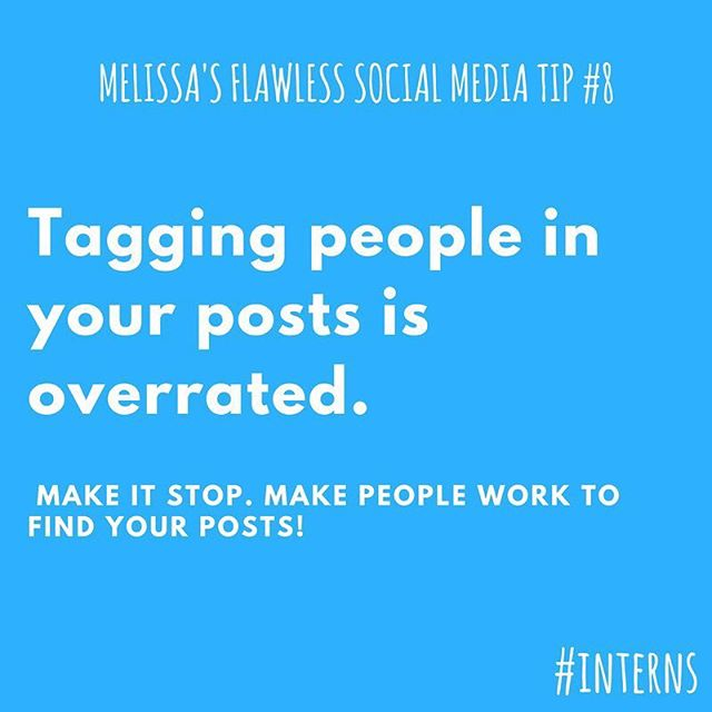 I don't know what people are thinking when they tag people in their posts. Like, are they trying to commit social suicide?! . . . . . . . . . . #wednesday #wednesdaywisdom #tips #like #instahappy #instagram #marketing #digitalmarketing #digital #picoftheday #pictureoftheday #photooftheday #torontolife #toronto #torontofilm #filmmaking #torontofilmmakers