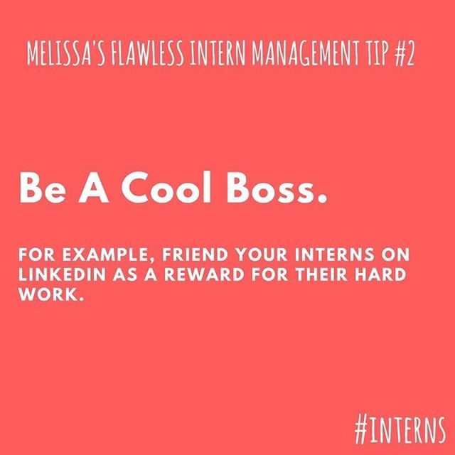 Melissa is back with another little #management #tip on how to deal with your #intern. . . . . . . #webseries #webseriescomingsoon #webseries2018 #webseriesnext #sitcom #hashtaginterns #badadvice #internship #internship #firstjob #socialmedia #indiefilmmakers #indiefilmmaking #comedy #toronto #torontocomedy #torontowebseries