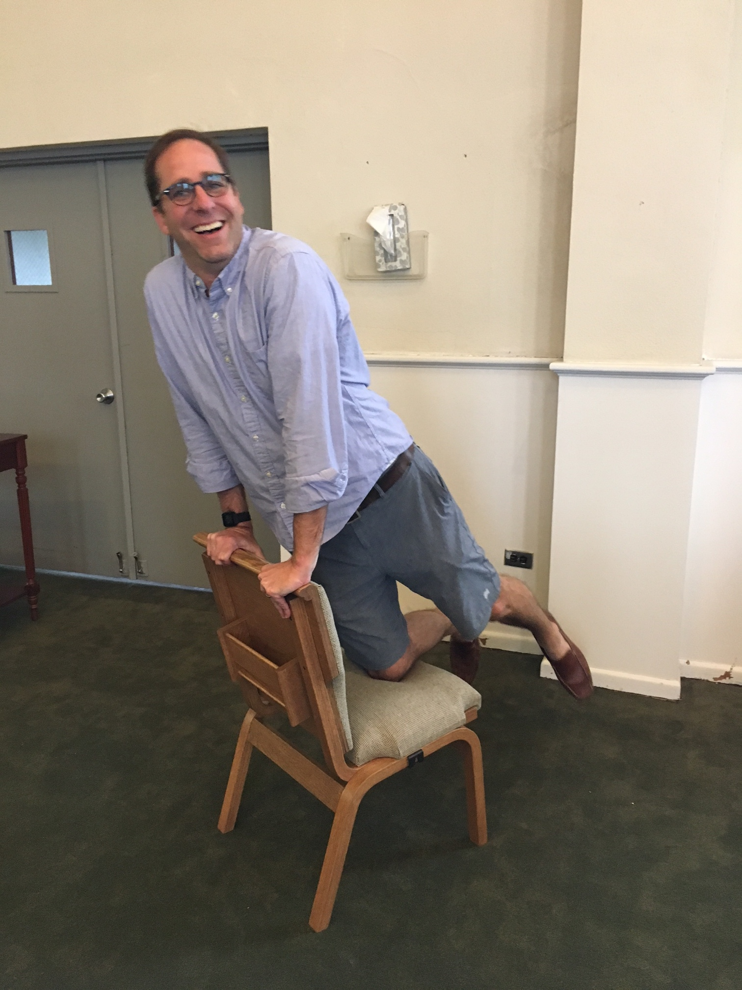 Volunteer to Move Chairs -