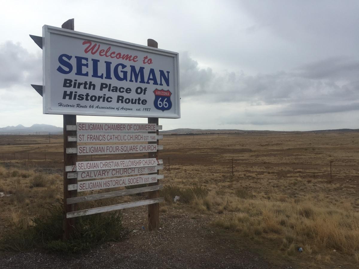 YV 7 Seligman Sign rev.jpg