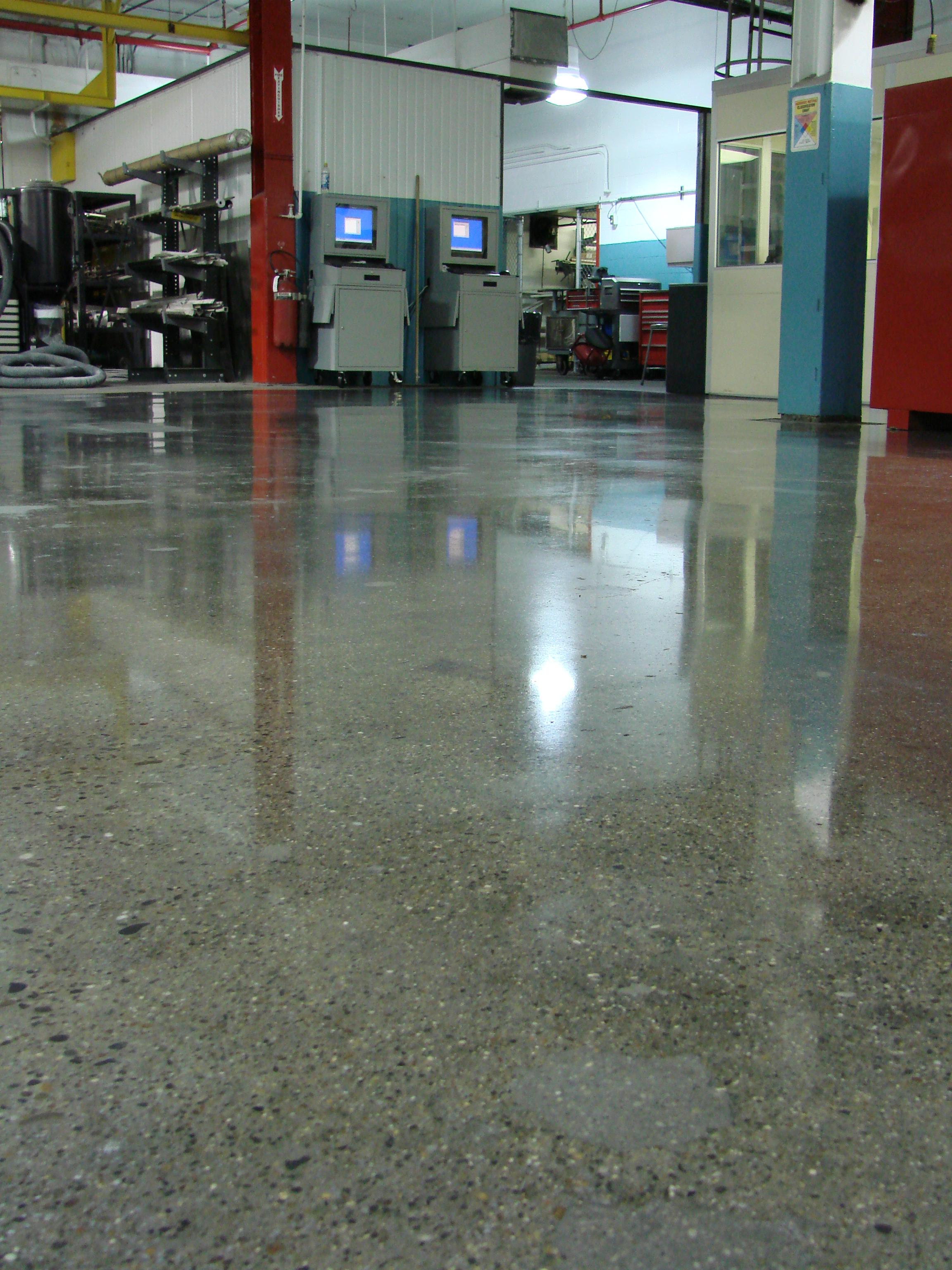 Mechanical Warehouse Floor.JPG