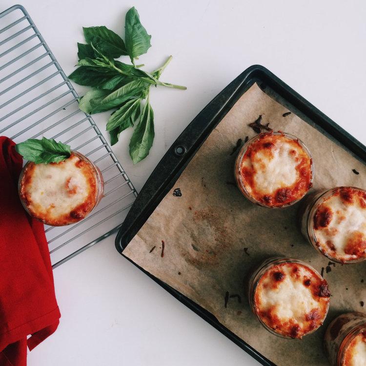Triple protein (noodle-less) mini lasagnas.jpeg