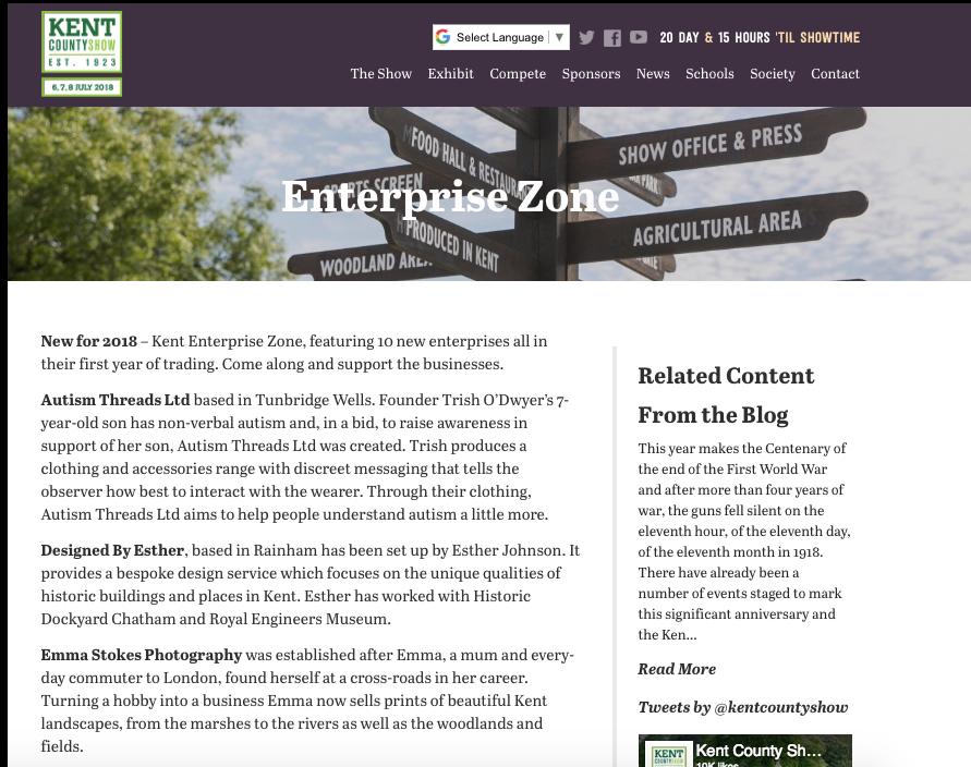 Kent County Show - Enterprise Zone