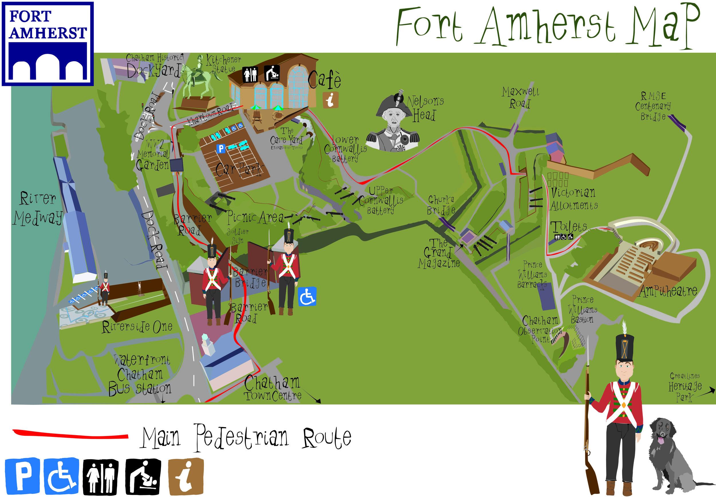 Fort Amherst Design