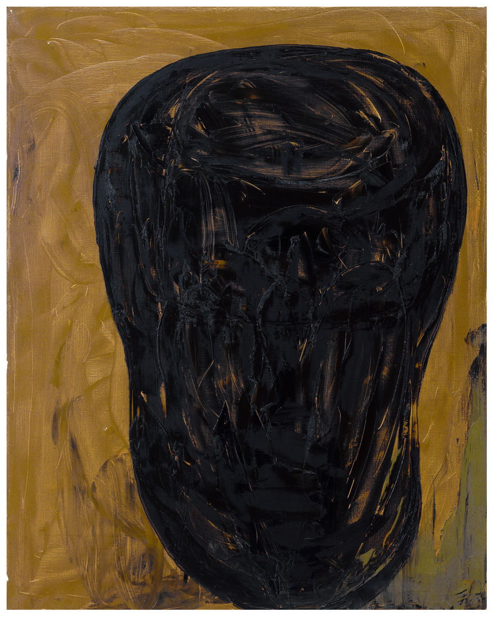 Das Schwarze Meer ,1991, Oil on canvas, 79h x 63w in (200h x 160w cm)