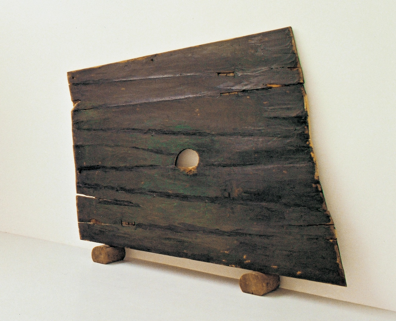 Die reisende Birne (Die Birnenreise) , 1991, Oil on wood, 98.42h x 98.42w in (250h x 250w cm), Morat-Institute, Freiburg in Breisgau