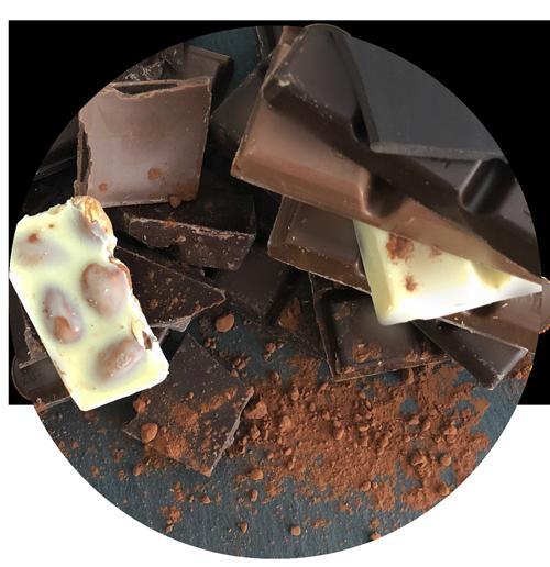 Je dunkler die Schokolade - je höher der Kakaoanteil desto mehr Theobromin und umso gefährlicher für unsere Hunde