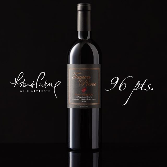 2016 Tayson Pierce 'Stagecoach Vineyards' Cuvée Rothchild Cabernet Sauvignon • Rated 96 pts. By Robert Parker's Wine Advocate • 100% Cabernet Sauvignon • #winelover #vino #wine #winetime #instawine #redwine #winetasting #whitewine #wineporn #winelovers #vin #vinho