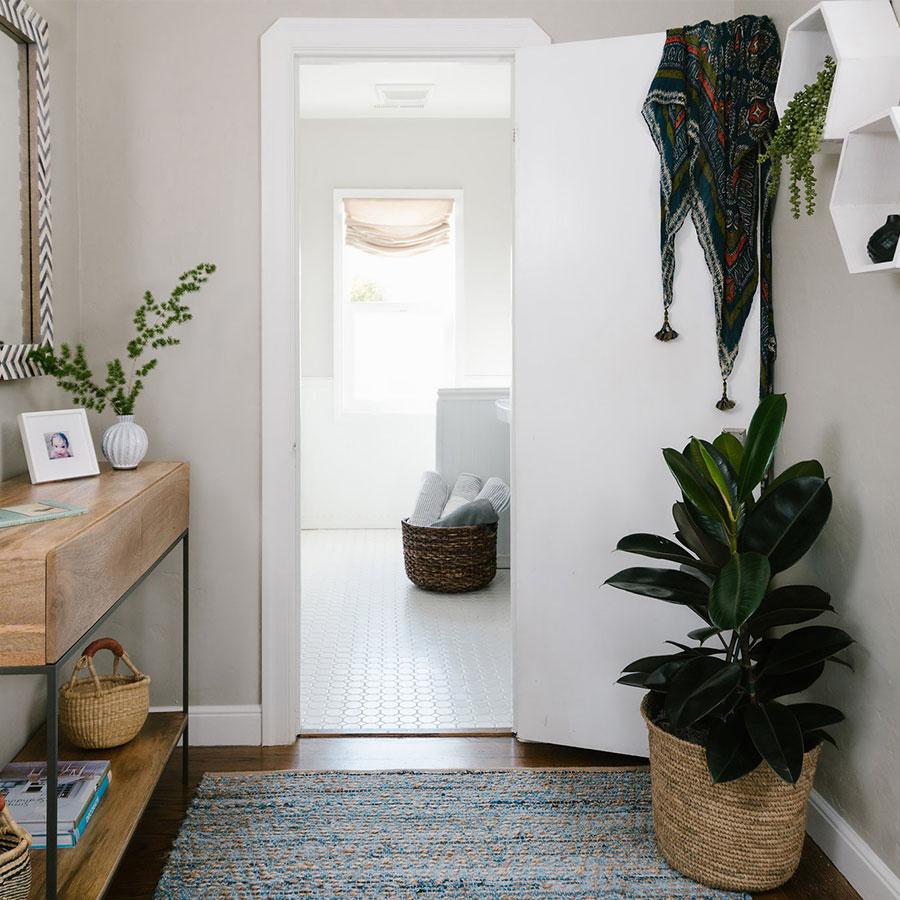 Bathroom Entryway After