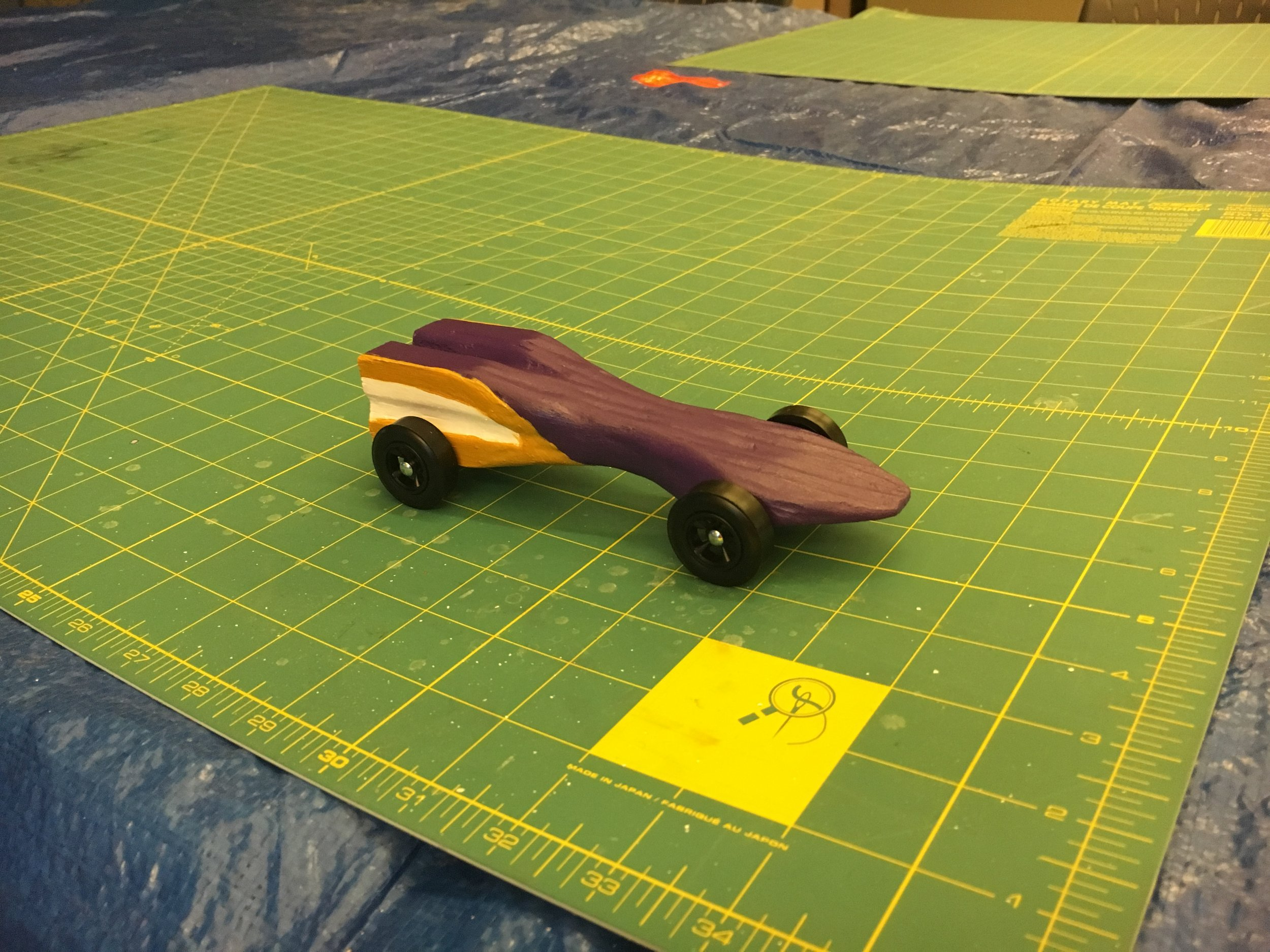 "My Pinewood Derby car - ""The Royal"""
