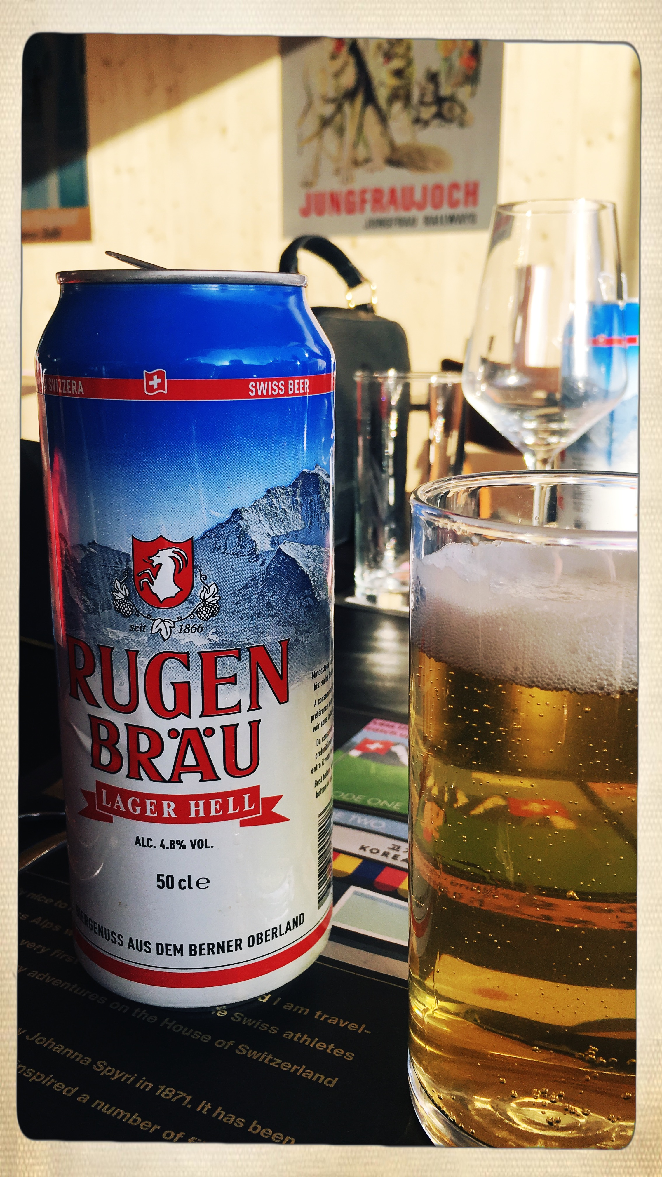 Our Swiss beer