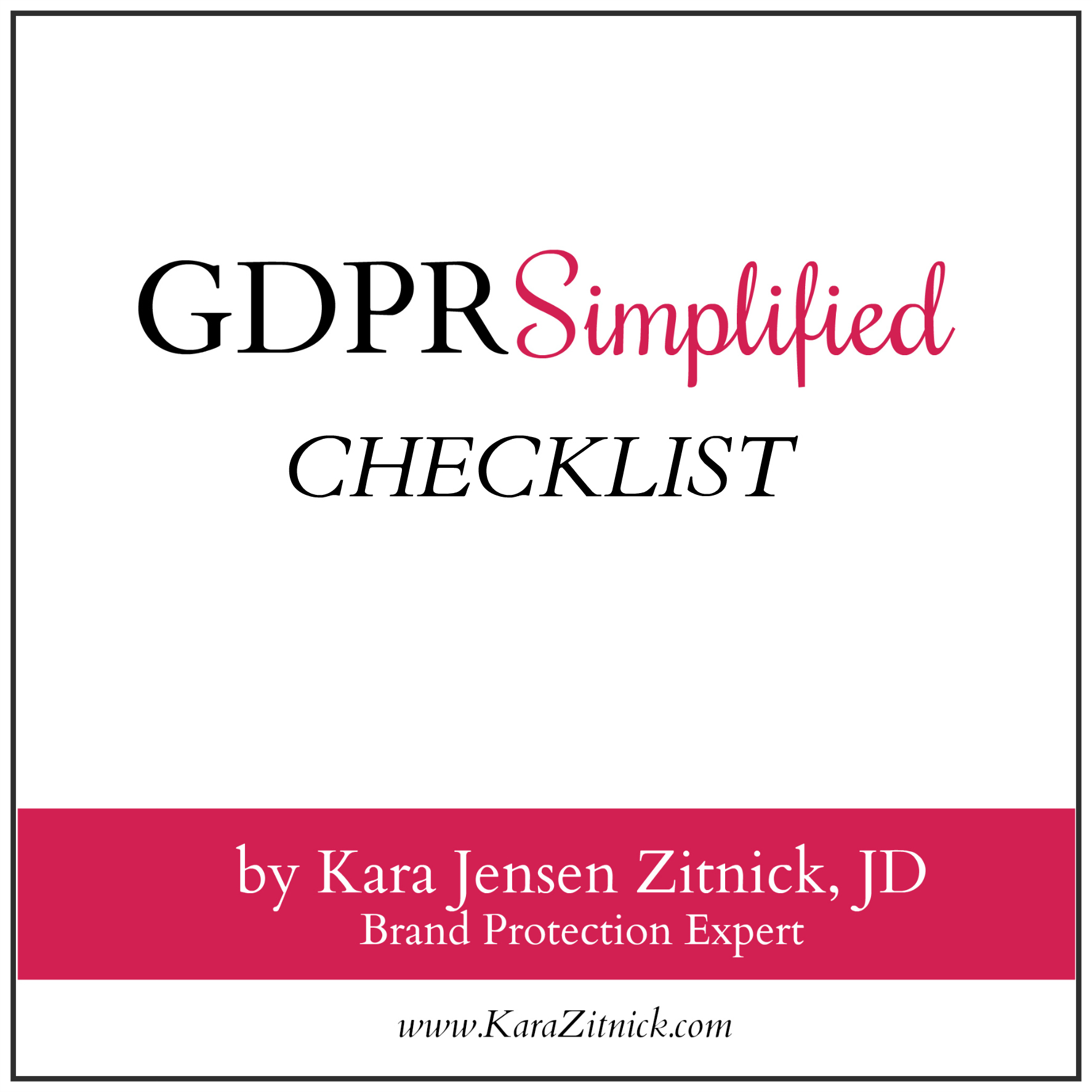 Free Download - CLICK THE DOWNLOAD BUTTON BELOW TO ACCESS THE CHECKLIST