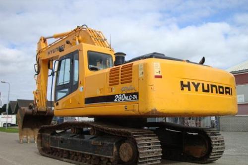 R 290 LC7 - Hyundai crawler excavator