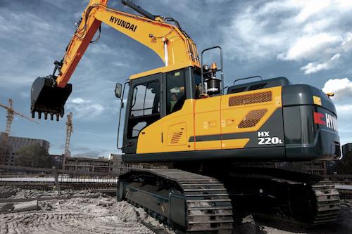 HX 220 L - Hyundai crawler excavator
