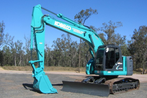 SK 235SR - Kobelco crawler excavator