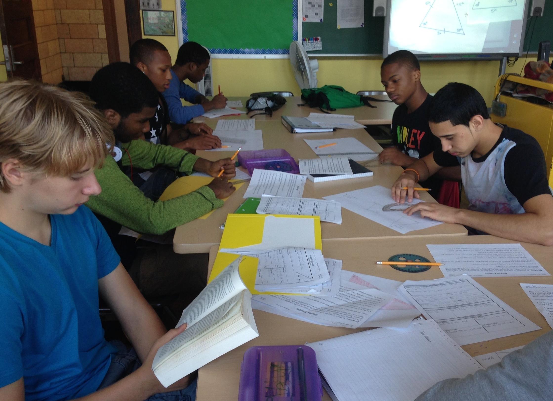 Students preparing for math PBATs