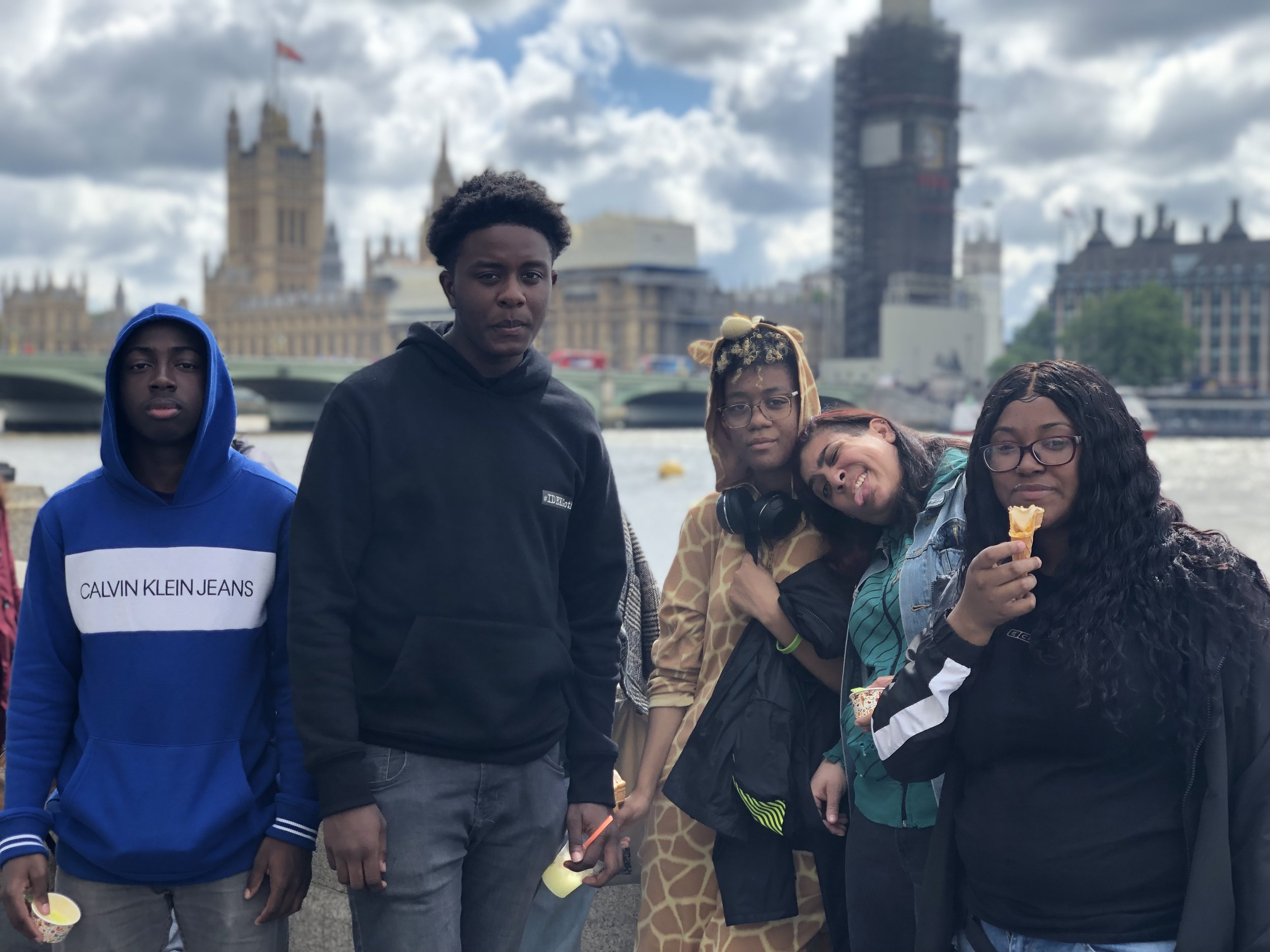 In the Spring of 2019, select theater students travelled to the United Kingdom to study and perform at the University of Northampton. They developed skills in physical theater while performing alongside college students, professional actors and professors of theater.                                           #IDEKGotham #NostrandToNorthampton