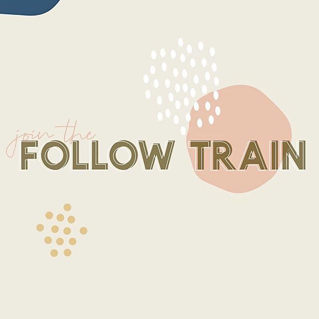 I joined some of my favorite gals to host a follow train, and we would love for you to join us! It's a fun way to discover new friends!  To play: *follow all accounts listed down below⠀ *find the follow train post on each account & comment with a 🌞 once you follow • • @kaelhoney @_haymama @brittespz @jesswaddell @kylielovessnails @livingthelewislife @mckayla_pamela @sabrinaweaverr @taylorbrummer @topknotkelsea @alysha.gabrielle @imtaylorb @jesswaddell @the_great_walls @baileysandbabes @millennialmomtimes • • It's that easy! We will follow back those that inspire us! We will also feature a few of our favorite accounts to our stories. Follow train ends in 24 hours. Please, don't follow to unfollow. We are trying to make genuine connections here!